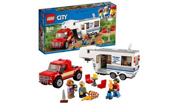 Weihnachtsgeschenke Camping: Lego Campinganhänger
