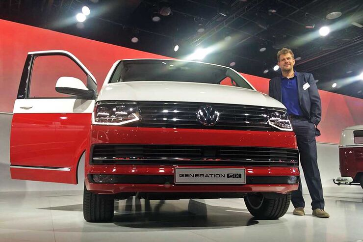 Weltpremiere VW T6