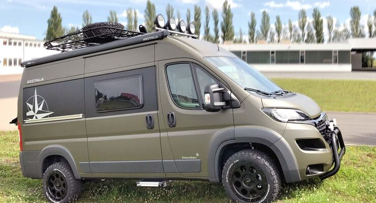 premiere westfalia amundsen 540 d offroad campingbus. Black Bedroom Furniture Sets. Home Design Ideas