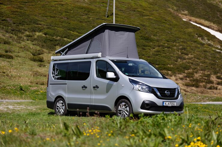 westfalia michelangelo 2018 nissan nv 300 campervan. Black Bedroom Furniture Sets. Home Design Ideas