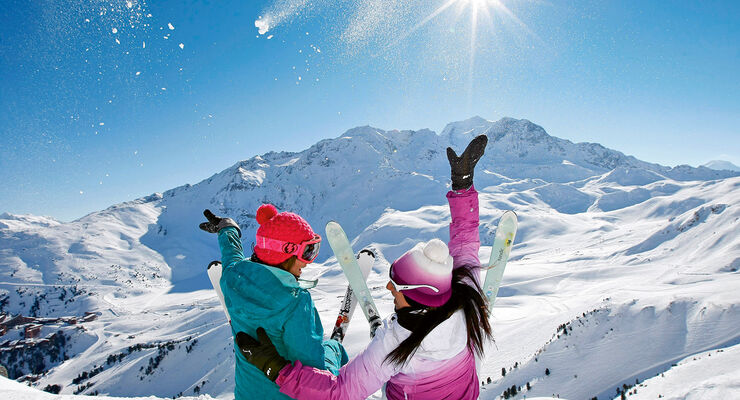 Wintersport in Frankreich