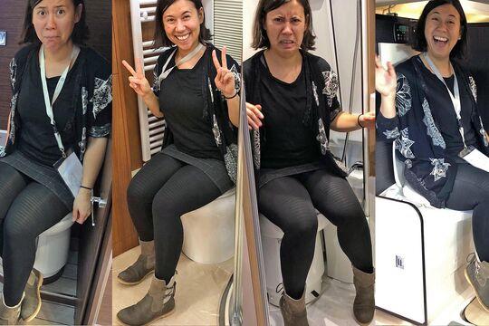 Wohnmobil WC