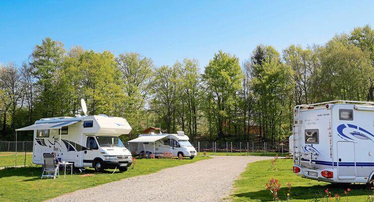 Wohnmobilpark Schwarzach am Wildpark