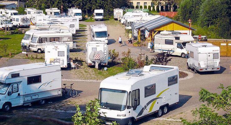 Wohnmobilpark Westhafen