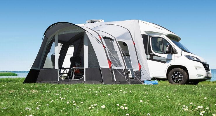 caravan salon 2018 neues camping zubeh r promobil. Black Bedroom Furniture Sets. Home Design Ideas