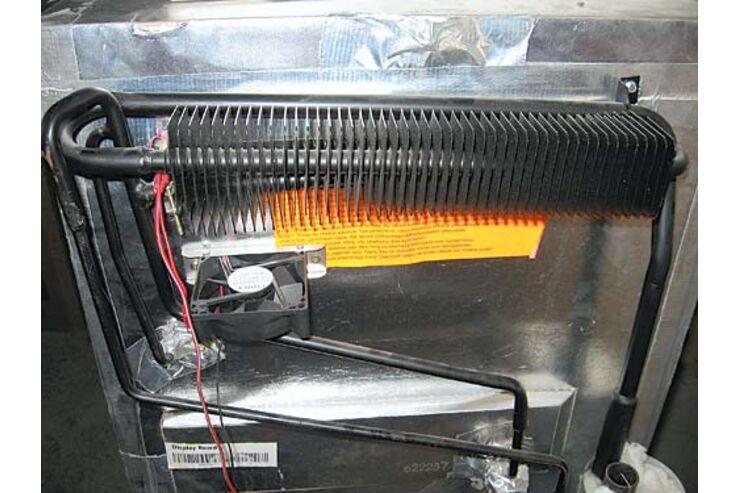Kühlschrank Ventilator : Lüftermotor ventilator für kühlschrank no frost w v