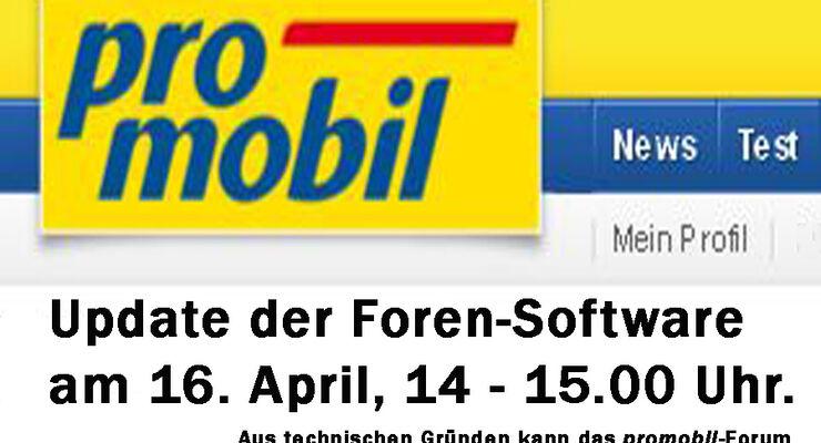 promobil Forum Update