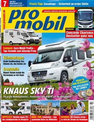 promobil Heft 06/2011
