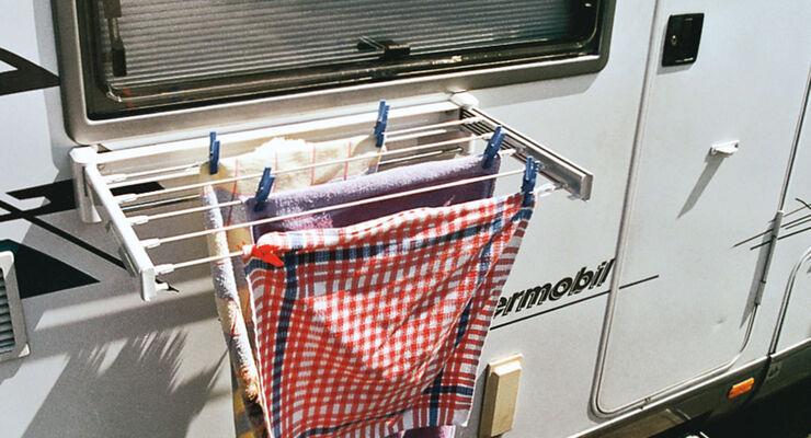 trockene Wäsche